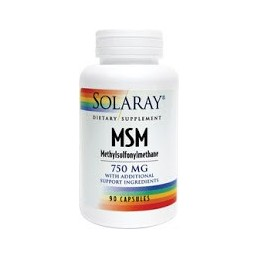 MSM 90 capsule Solaray Secom