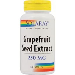 Grapefruit Seed Extract 60 capsule Solaray Secom