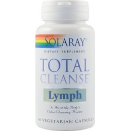 Total Cleanse Lymph 60 capsule Solaray Secom