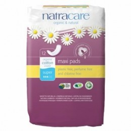 Absorbante maxi super bio 12buc Natracare
