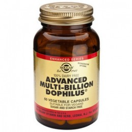 Advanced Multi-billion Dophilus 60 cps Solgar