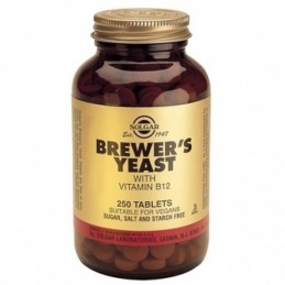 Brewers Yeast 500mg 250 tablete Solgar