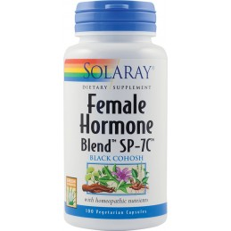 FEMALE HORMONE BLEND 100cps SOLARAY SECOM