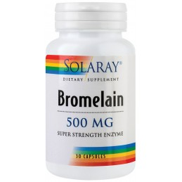 BROMELAIN 500mg 30cps Solaray SECOM