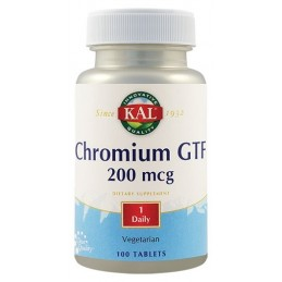 CHROMIUM GTF 200mcg 100tb SECOM