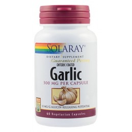 GARLIC (USTUROI) 500mg 60cps SOLARAY SECOM