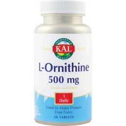 L-ORNITHINE 500mg 50tb SECOM