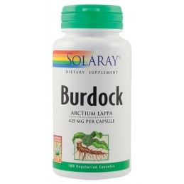 BURDOCK (BRUSTURE) 425mg 100cps Solaray SECOM