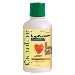 CALCIUM WITH MAGNESIUM 474ml CHILDLIFE SECOM