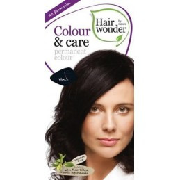 Vopsea permanenta fara amoniac 1 Black, Colour & Care