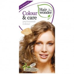 Vopsea permanenta fara amoniac 7 Medium blond, Colour & Care