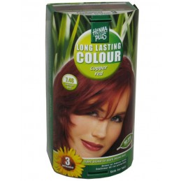 Vopsea de par Long Lasting Cooper red 7.46
