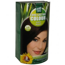 Vopsea de par Long Lasting Warm brown 4.45