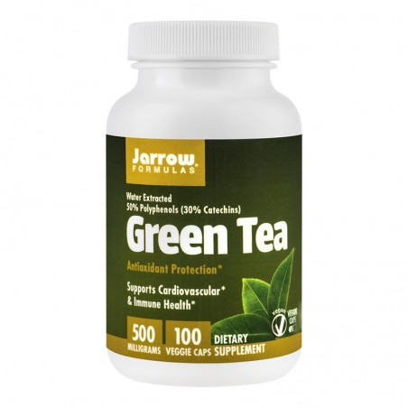 Green Tea 500mg 100 capsule vegetale SOLARAY  SECOM
