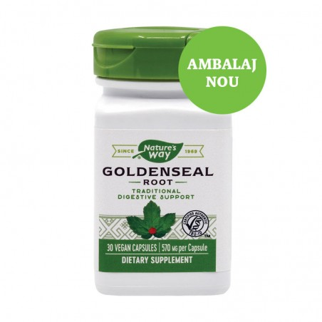 Goldenseal 570mg  30 capsule vegetale SECOM